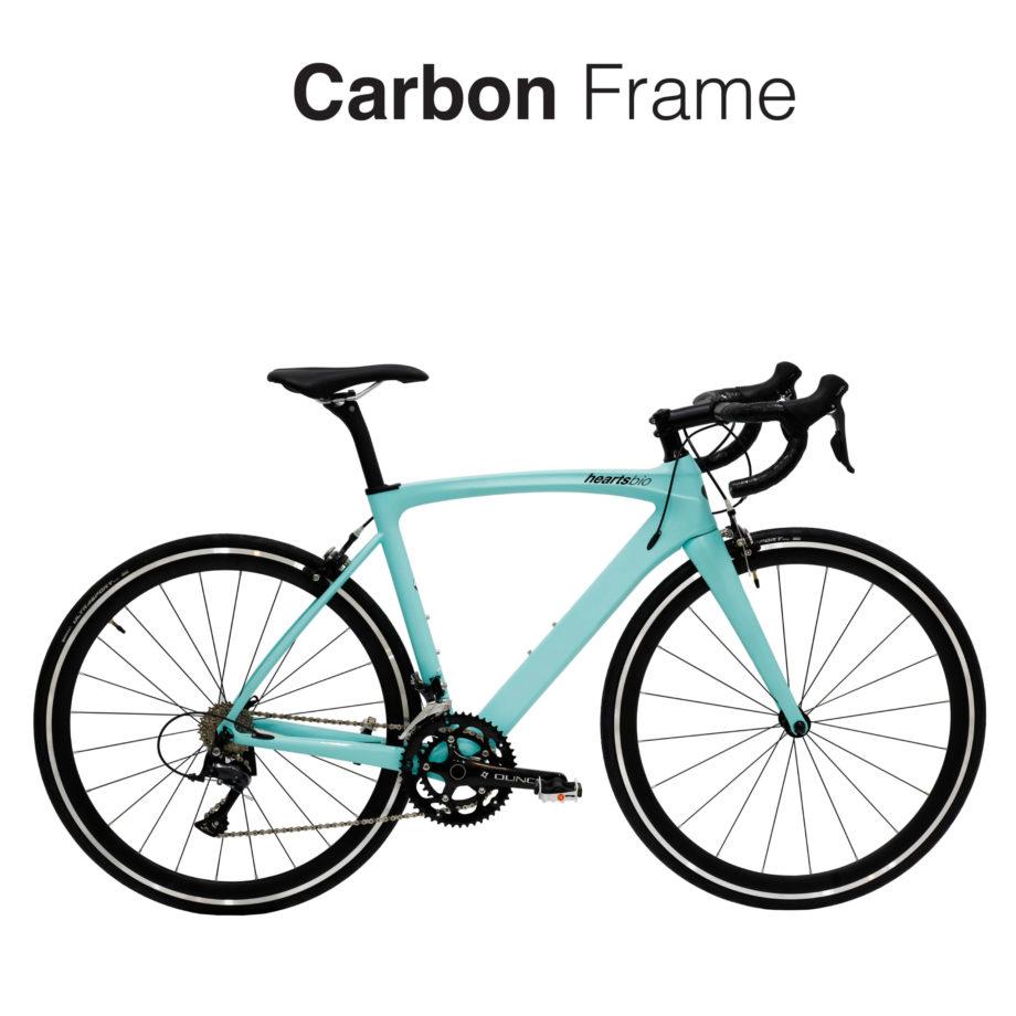 heartsbio carbon road bike